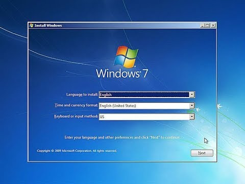 Windows 7 Installation Process step by step (in VMware Workstation)