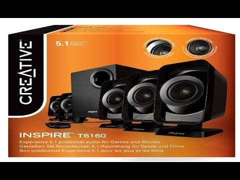 How To Connect Creative Inspire T6160 51 Speakers To