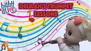 download lagu Baby Alive Delilah Goes To Trumpet Lessons gratis