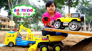 BABY TOY BOX OPEN HUYỀN CAR by entertainment for baby