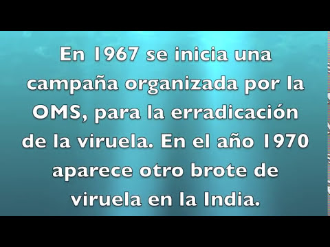 Historia de la Viruela