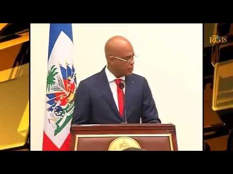 L'Ambassadeur d'Argentine à Port au Prince Marcelo Sebaste /  grade grand-croix