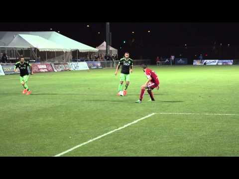 Goal: Clint Dempsey finishes a cross from Tyrone Mears vs FC Tucson
