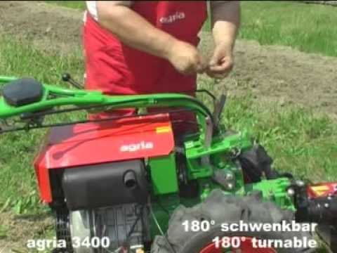 agria 3400 Einachsschlepper   Two-Wheel-Tractor