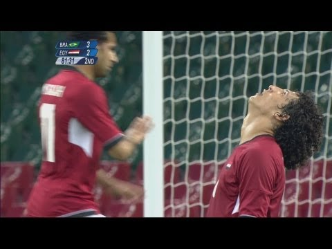 Football Men's Group C – Brazil v Egypt Full Replay — London 2012 Olympic Games