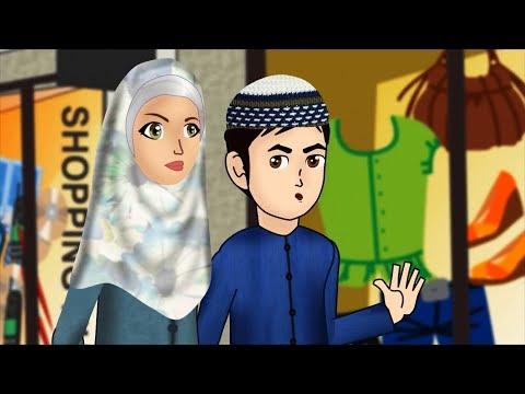 Abdul Bari and the happy shopkeeper Urdu Islamic Cartoons for children