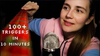 105 ASMR Triggers in 10 Minutes