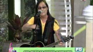 Kris Aquino sings 'Pusong Bato'