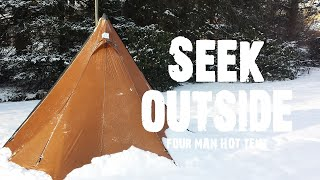 Seek Outside 4-Man Hot Tent Tipi & Stove Review