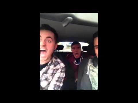 Asleep in car prank