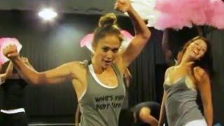 Jennifer Lopez on the %22Let's Get Loud%22 Dance Number
