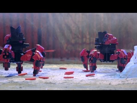 Combat Creatures Attacknid 2012 Commercial