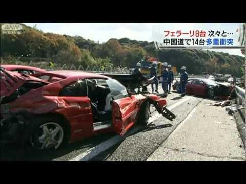 Skaistas avārijas sekas Japānā