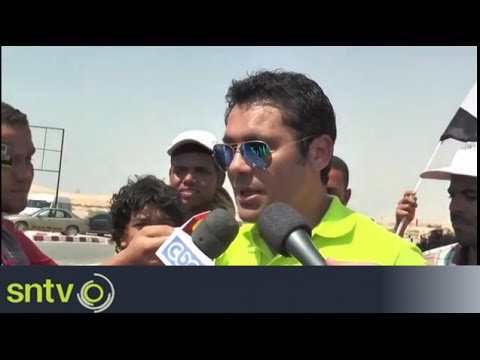 Second Suez Canal receives footballers' backing