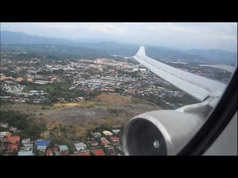 Malaysia Airlines A330-300 Late Touchdown in Kota Kinabalu