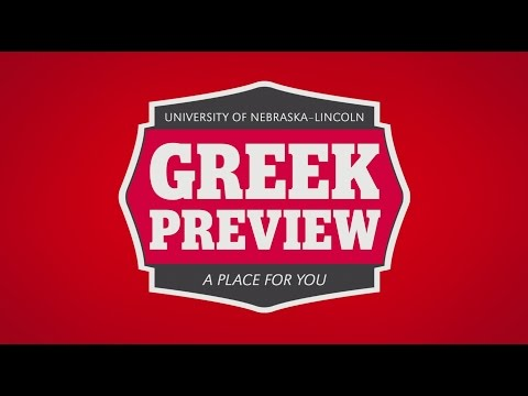 UNL Greek Preview