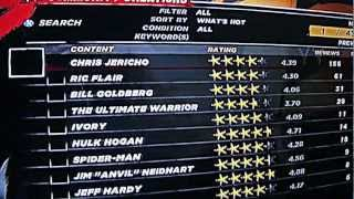 How to download free superstars on WWE 12