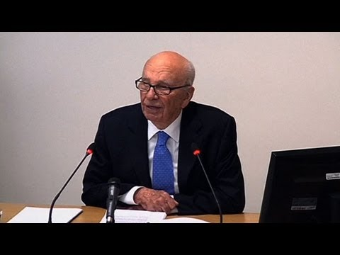 Rupert Murdoch Faces Leveson Inquiry