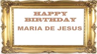 Maria de Jesus   Birthday Postcards & Postales
