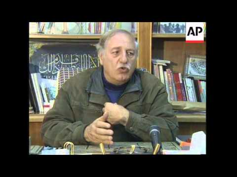 SYRIA: DAMASCUS: RADICAL PALESTINIAN LEADER AHMED JIBRIL INTERVIEW