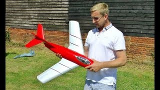 RC PLANE CRASH - ESC FALIURE ON JP MIG-15 EP DUCTED FAN - TOTALLY DESTROYED - IAN & DEANO - 2017