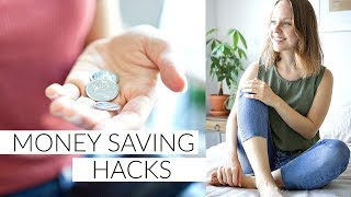MONEY SAVING TIPS | minimalist, lifestyle & food hacks to save money