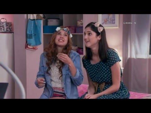 Camila y Fancesca se burlan de la amistad de León y Violetta (03x63)