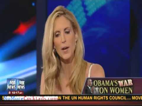 Ann Coulter on Hannity: Obama pandering to stupid single women voters
