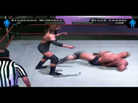 Stephanie McMahon vs Brock Lesnar (Table) thumbnail