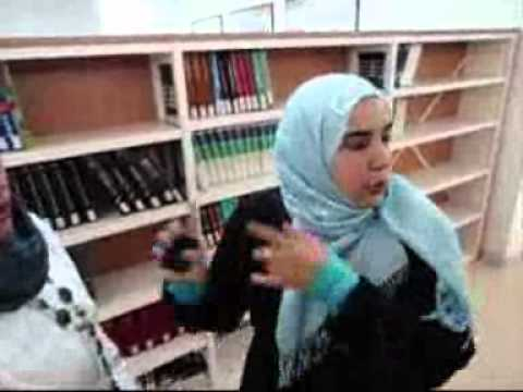 Woman university student Tripoli June 2011 .wmv