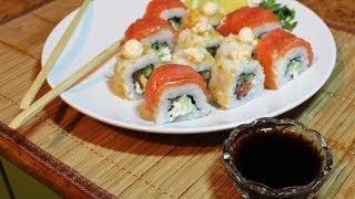 Рецепт Японских роллов ( Филадельфия и Нью-Йорк )