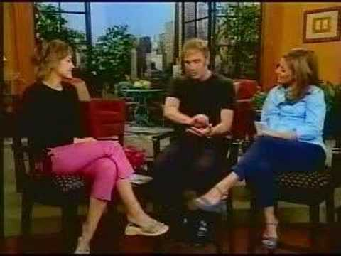 Colleen Haskell on Live with Regis and Kelly