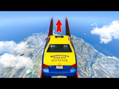 The IMPOSSIBLE TAXI DRIVER Challenge In GTA 5!