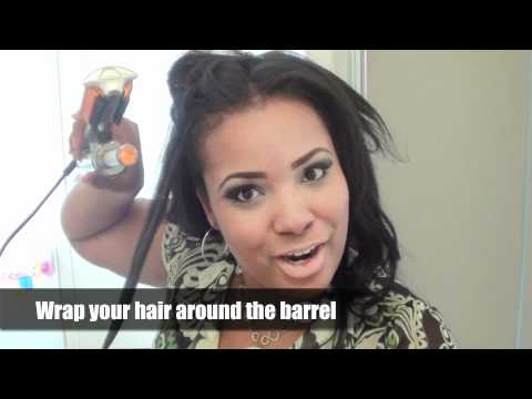 InStyler 3/4 inch Rotating Iron Tutorial and Review