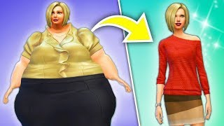 My 600 Pound Life | Weight Loss Story  | Sims 4 Story |