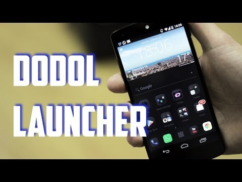 Launchers Android: dodol Launcher