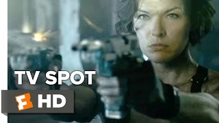 Resident Evil: The Final Chapter TV SPOT - The End (2017) - Milla Jovovich Movie