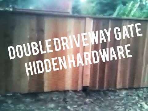 How To Make A Double Wood Gate