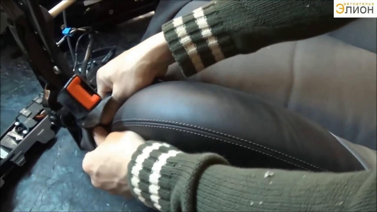 Накладка на коврик водителя своими руками