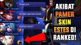 Download Lagu Pake ESTES Di RANK buat PAMER SKIN, AWALNYA DI BULLY HABIS-HABISAN Tapi Akhirnya... Gratis STAFABAND