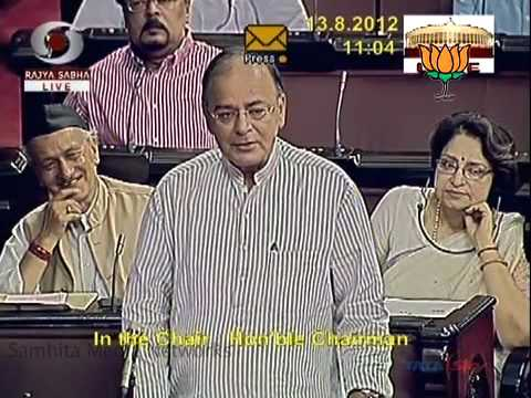 BJP LEADER ARUN JAITELY SPEECH ON HAMID ANSARI