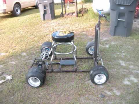 Homemade Bar Stool Racer Road Rash Maker Youtube