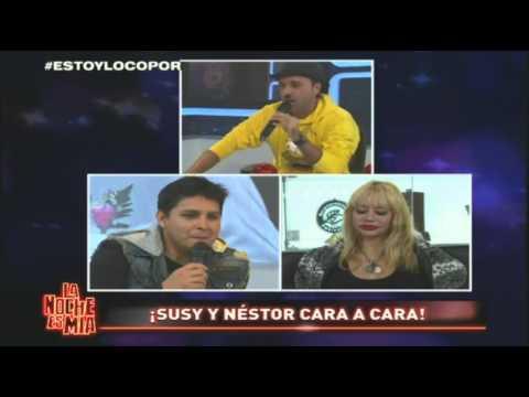 ¡Susy Díaz y Néstor Villanueva cara a cara en La Noche Es Mía!