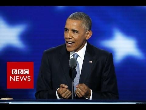 President Obama's message of hope - BBC News