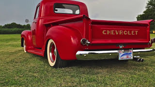 "1950 Chevy 3100 ""Red Stardom"""