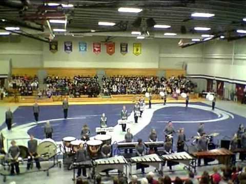 Francis Howell Central High School Drumline - Feb 27, 2010