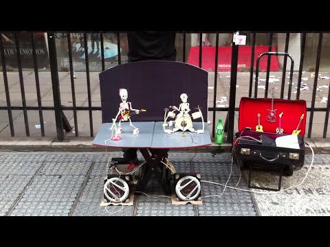 Marionetas Esqueletos Metallica