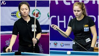 2018 Women 9-Ball World Championship 女子世錦賽│Chen Ruolin 陳若琳 vs Kristina  Tkach