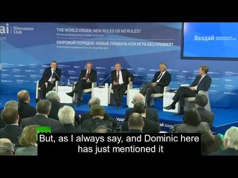 Putin: Who created ISIS?