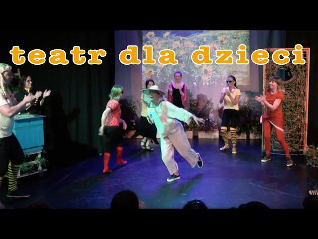 Spektakl teatralny | dla dzieci | Wczoraj w ulu | Ognisko Starówka | Warszawa